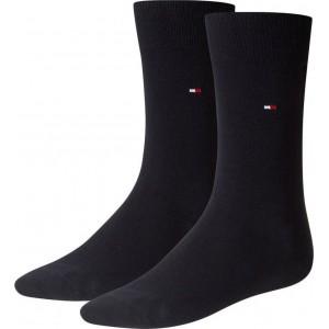 Tommy Hilfiger Κάλτσες Μπλε Σκούρο 2 ζευγάρια