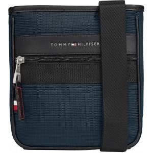 Tommy Hilfiger Elevated Nylon Mini Crossover Blue 7264
