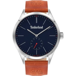 Timberland Lamprey Brown Leather Strap