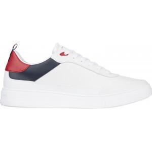Tommy Hilfiger Sneaker Δερμάτινο Λευκό