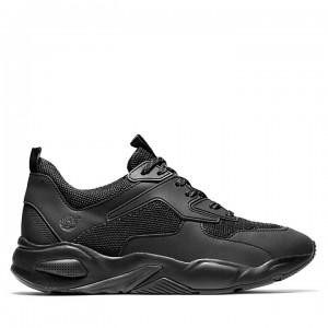 Delphiville Mesh Sneaker for Women in Black