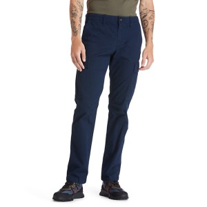 Squam Lake Cargo Trousers for Men in Navy