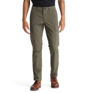 Squam Lake Cargo Trousers for Men in Green