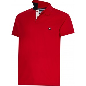 Timberland Polo Μπλούζα Κόκκινη