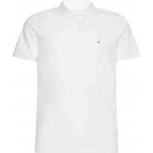 Calvin Klein Polo Μπλούζα Λευκή