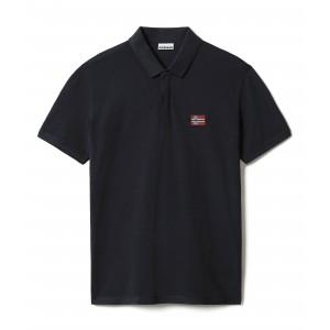 Napapijri Polo Μπλούζα Μαύρη