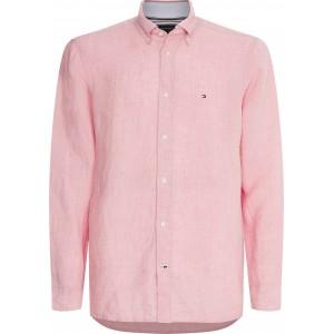 Tommy Hilfiger Linen Shirt Glacier Pink