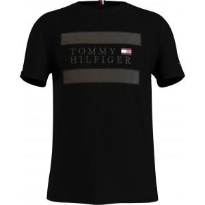 Tommy Hilfiger T-shirt Μαύρο 17669