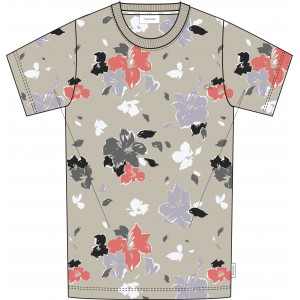 Calvin Klein T-Shirt Flower Print