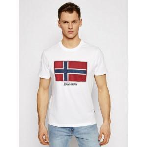 Napapijri T-Shirt Λευκό NP0A4F9R