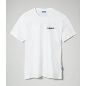 Napapijri T-Shirt Λευκό NA4F7F002