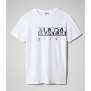 Napapijri T-Shirt Λευκό NA4F9N002
