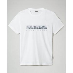 Napapijri T-Shirt Λευκό NA4F9O002
